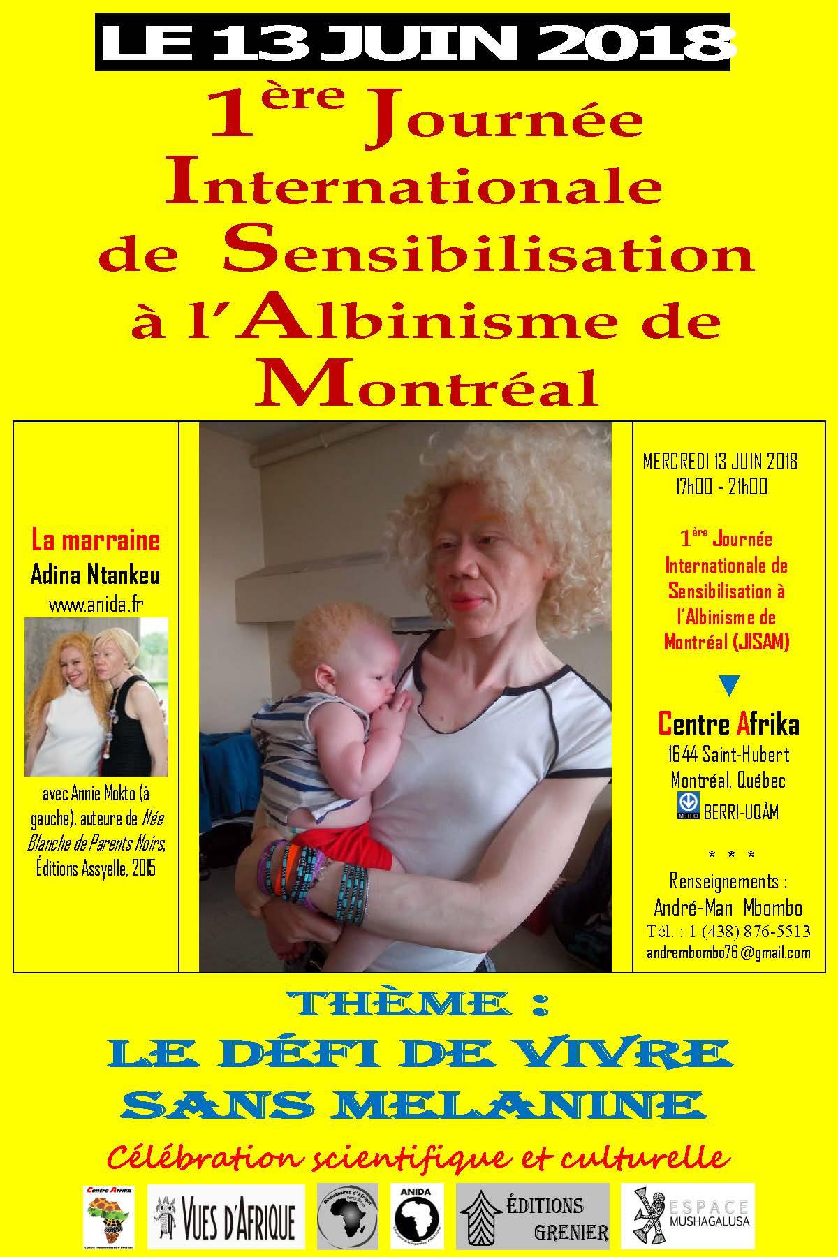 1ère Journée Internationale de Sensibilisation à l'Albinisme à ...